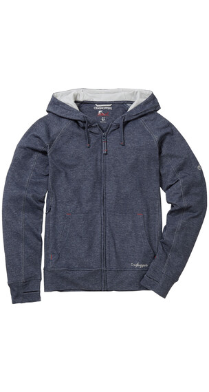 Craghoppers NosiLife Adanya Hooded Jacket Women Soft Navy Marl